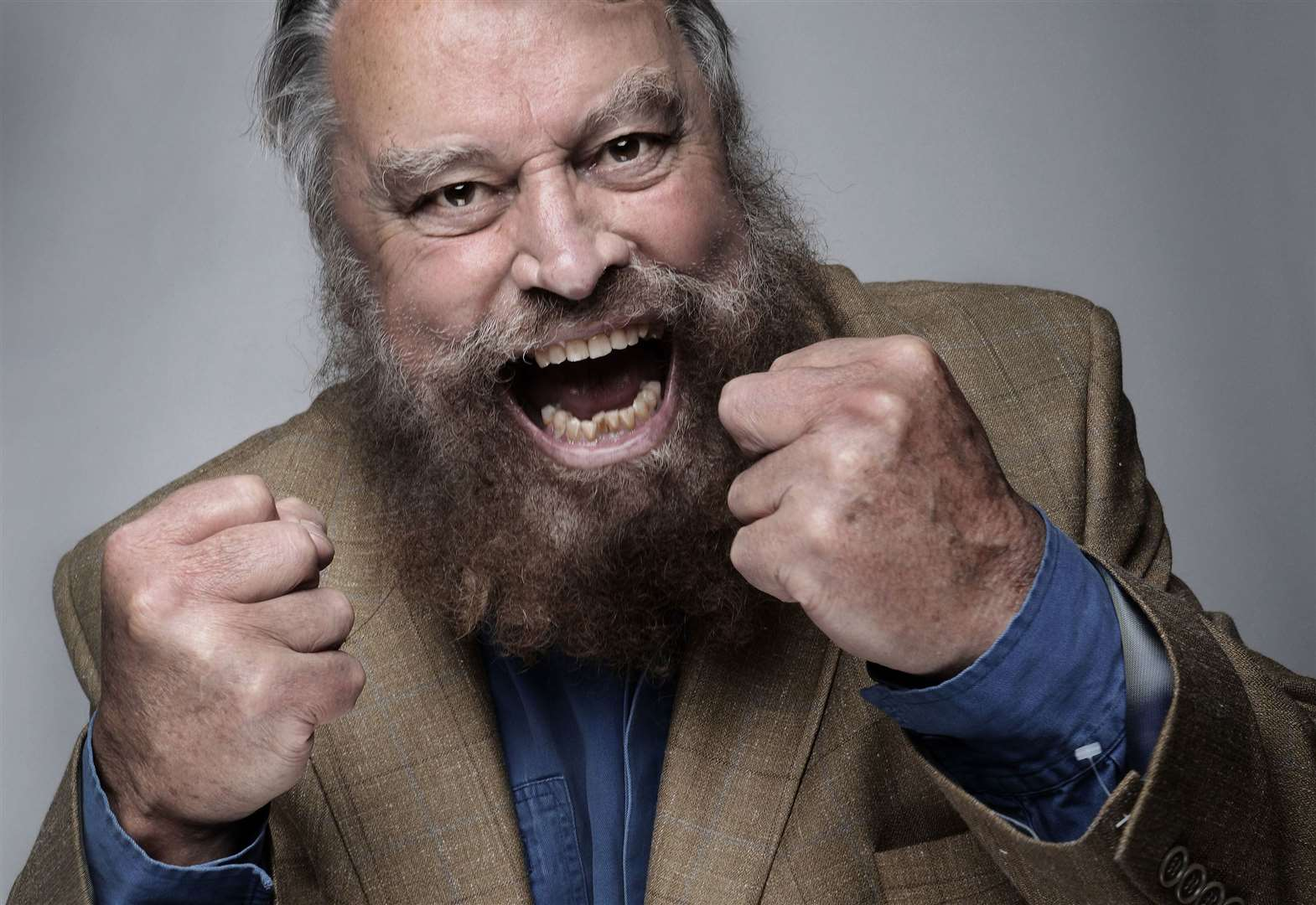 Actor Brian Blessed will talk about his career at St Wulfram's Church