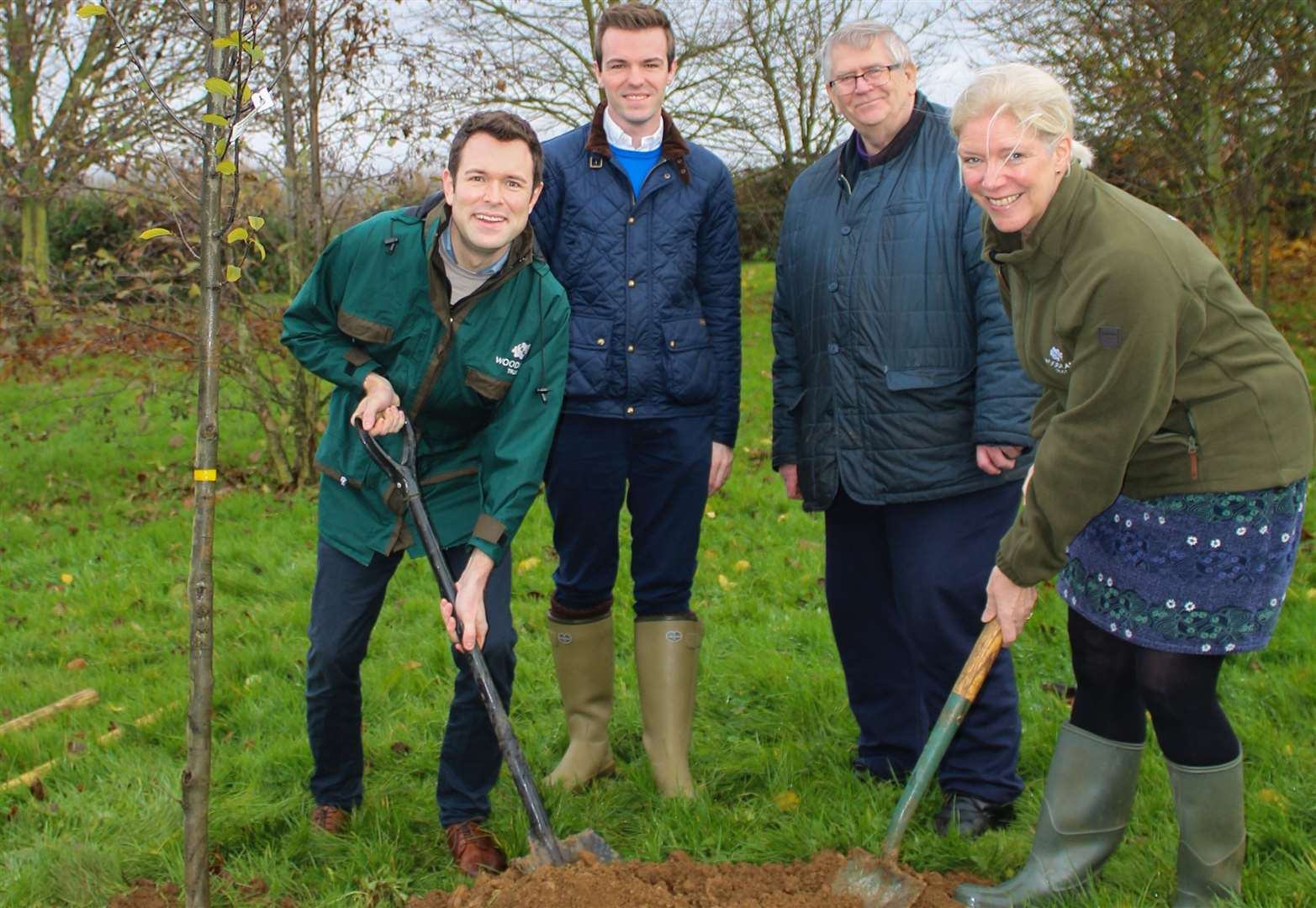 Vow is made to plant more trees and Grantham and district