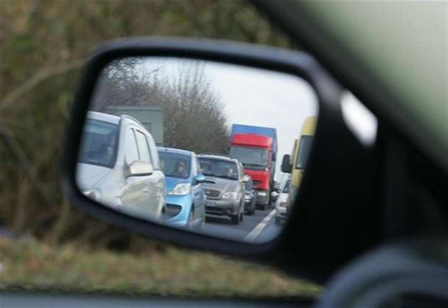One lane of the A1 near Grantham has been closed