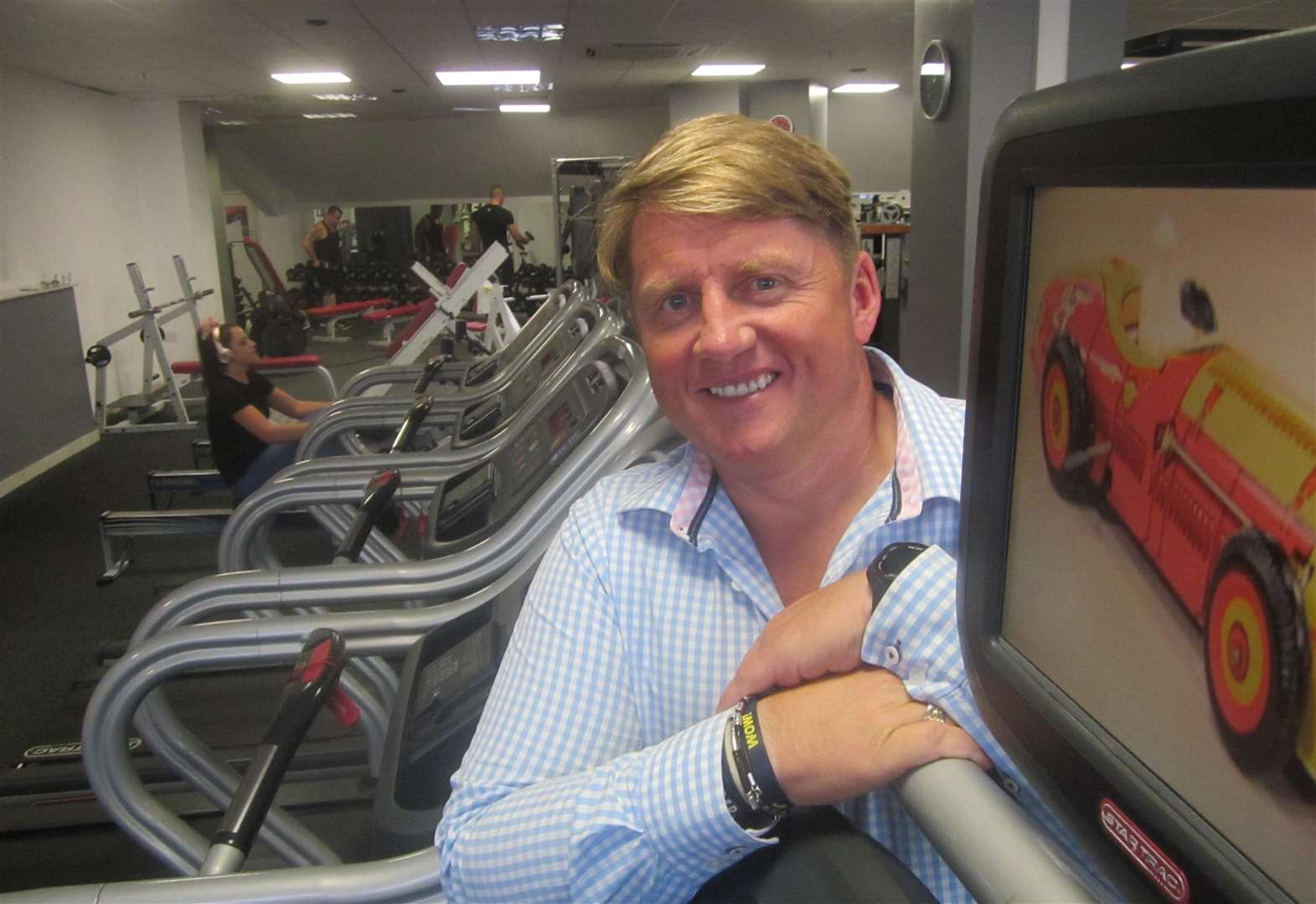 Grantham gym owner on a wave with global MyZone and gym success