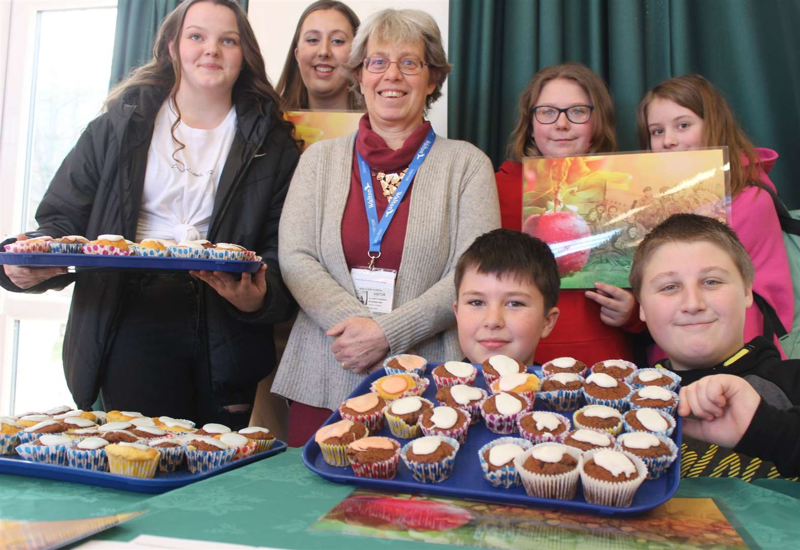 Grantham schoolchildren don pyjamas and bake cupcakes to raise funds for Heroes Orchard