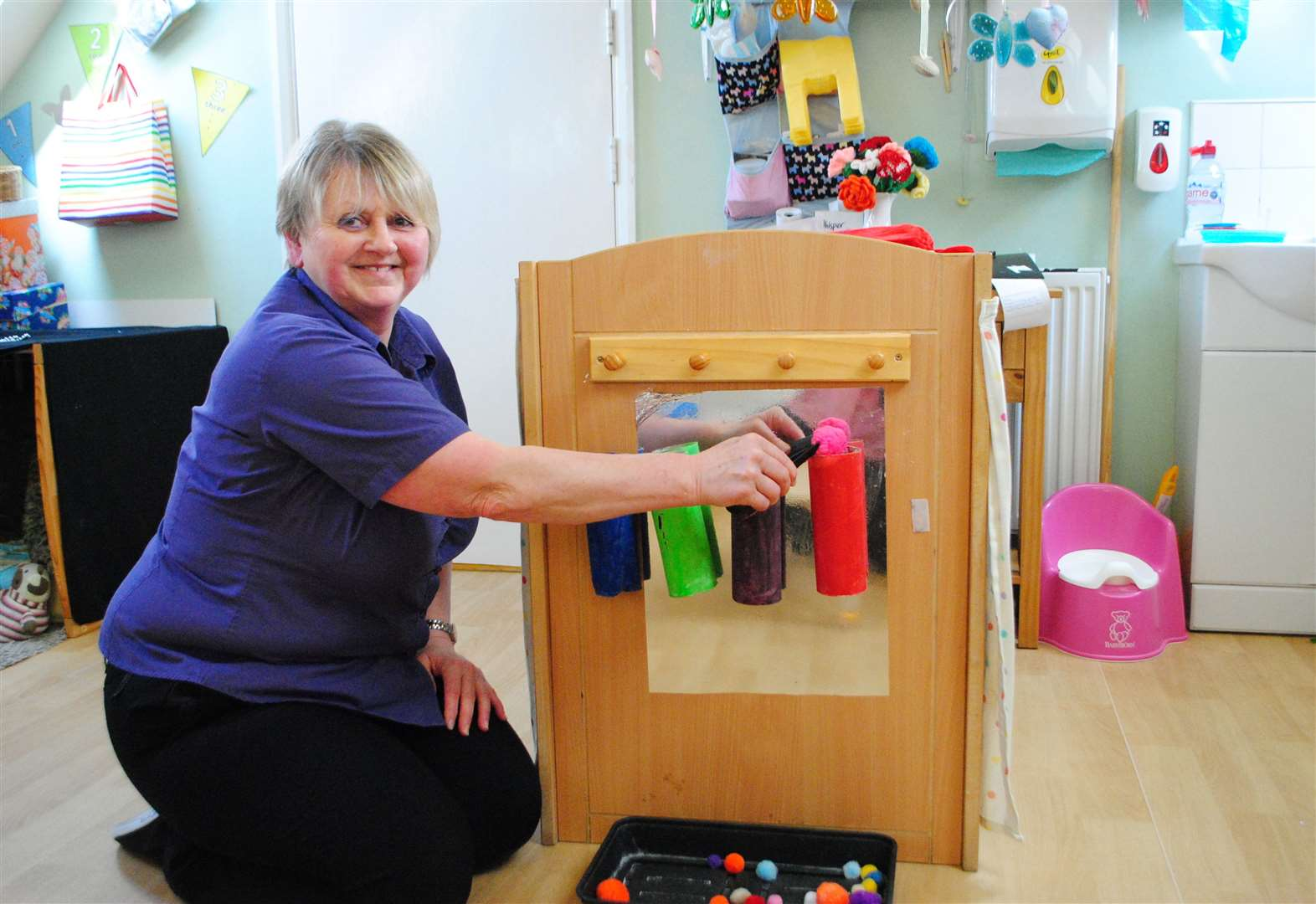 Grantham nursery leader's children's activities ideas sold in catalogue