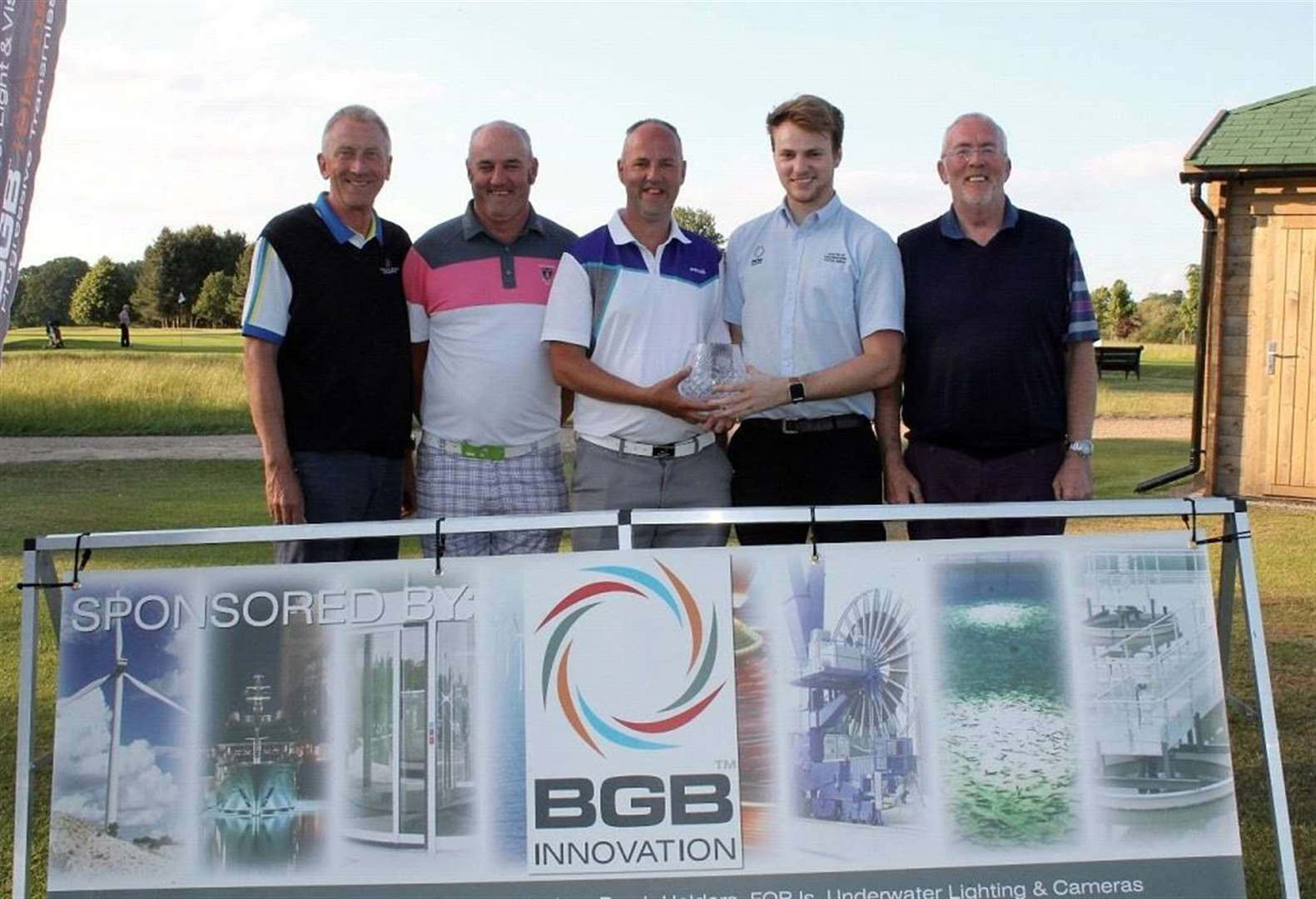 Rotary Club of Grantham Kesteven raise charity money with annual golf day