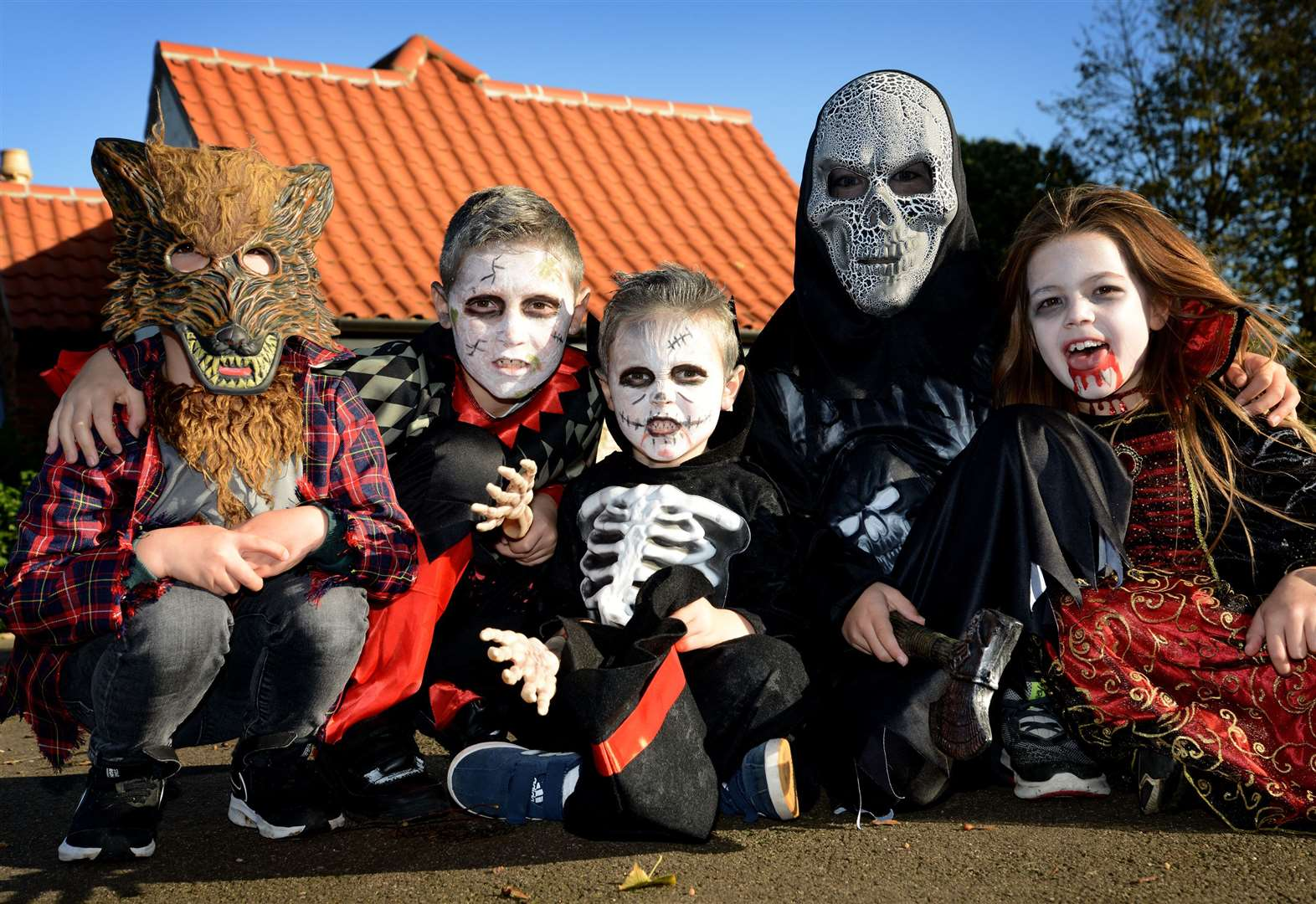 Spooky stories and ghostly goings on at Wyndham Park's Halloween event
