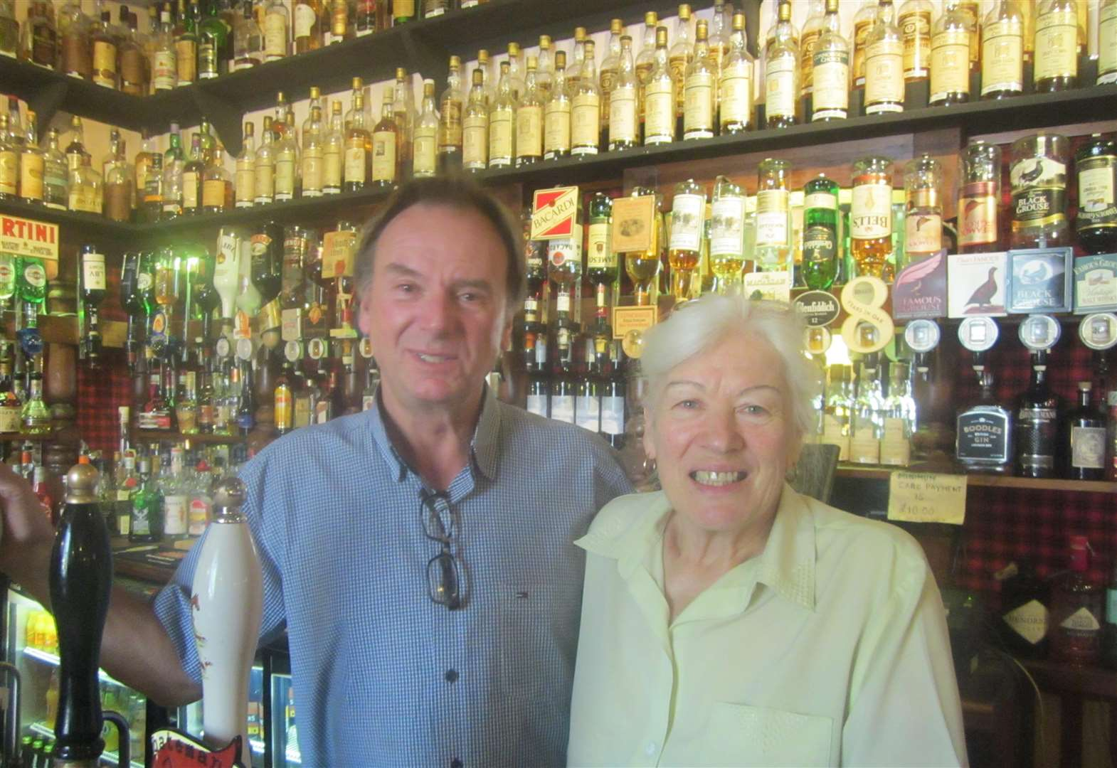 After 49 years at helm of historic pub, Mike and Karin are ready to pull their last pints