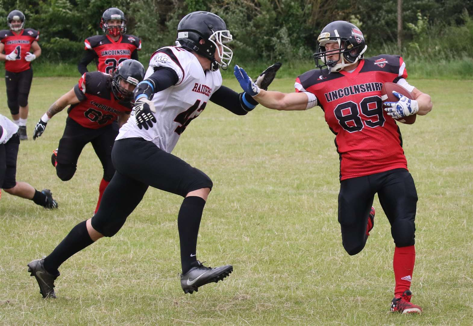Lincolnshire Bombers are holding rookie open days for anyone interested in playing American Football