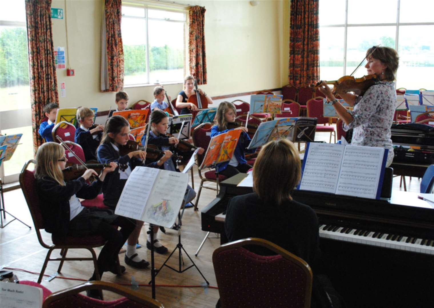 Talented youngsters to take part in Violins in the Vale