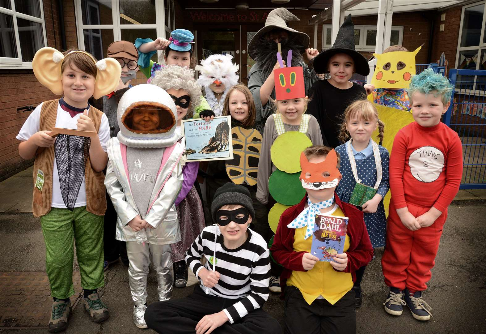 Hundreds of stories brought to life by Grantham youngsters