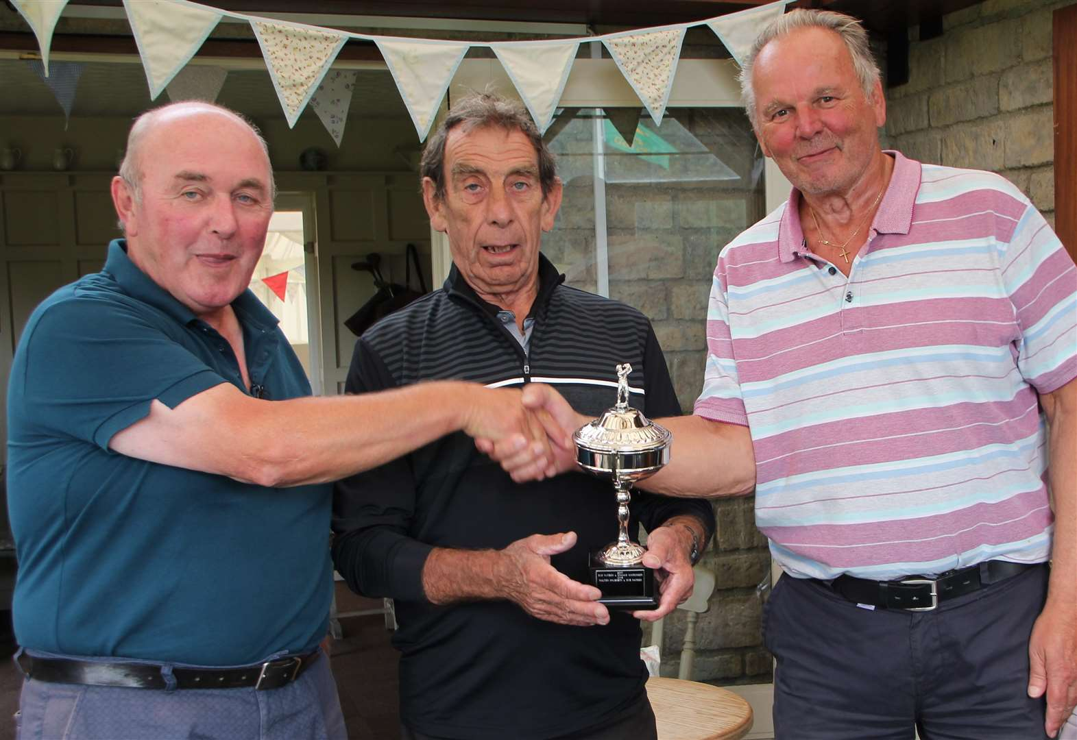 Sudbrook Moor Senior Friendship Cup is won by Bob and Walter