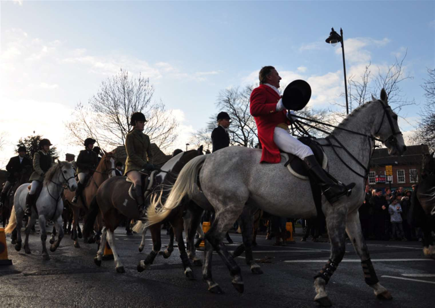 Belvoir Hunt will follow tradition with a Boxing Day meet in St Peter's Hill, Grantham