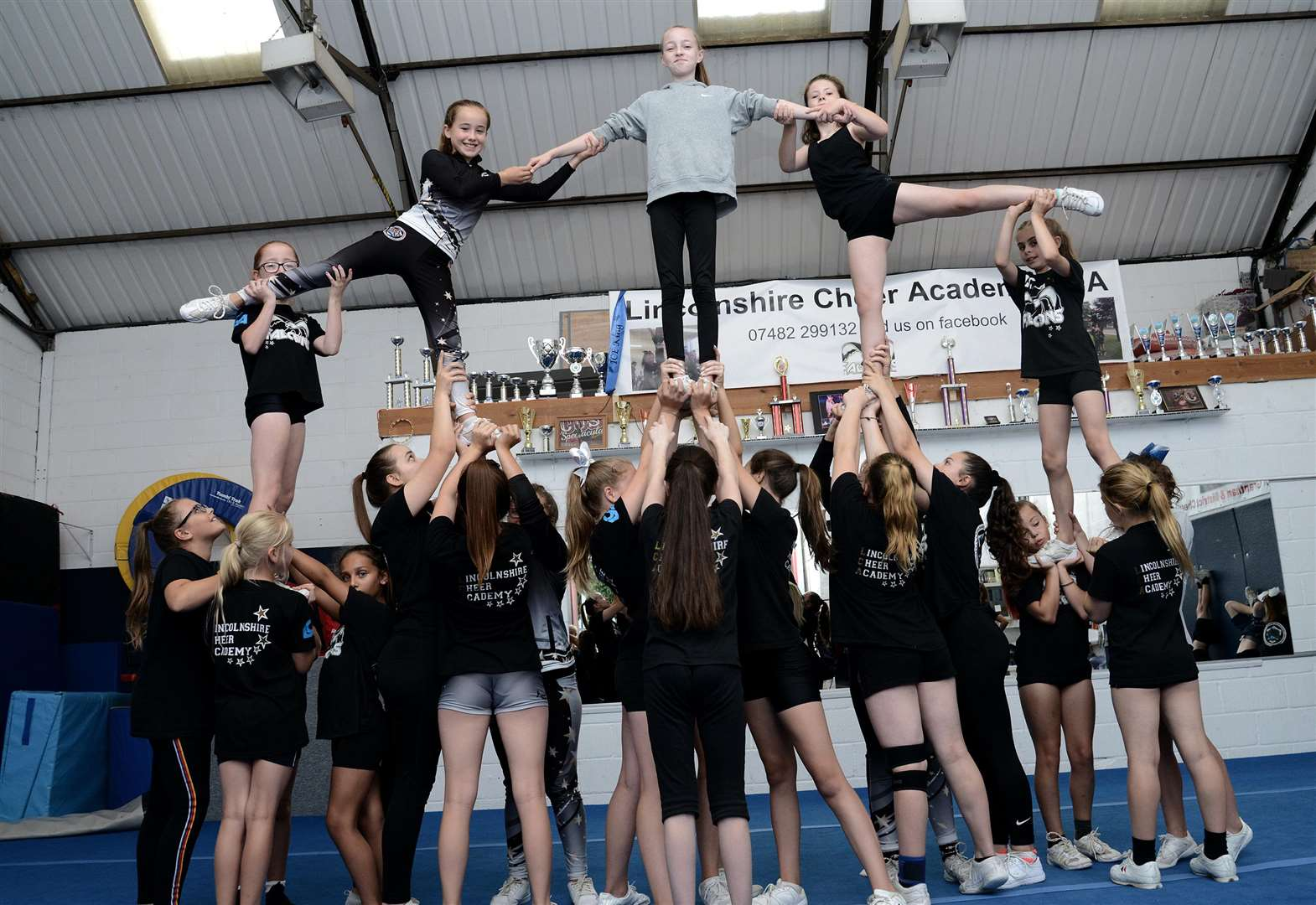 Cheerleading academy is appealing for more space in Grantham as popularity soars