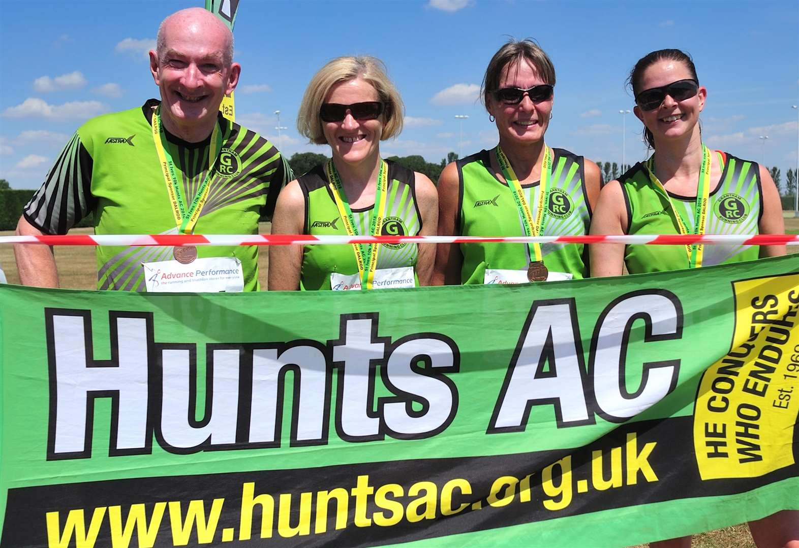 Grantham Running Club foursome take on St Ives 10K