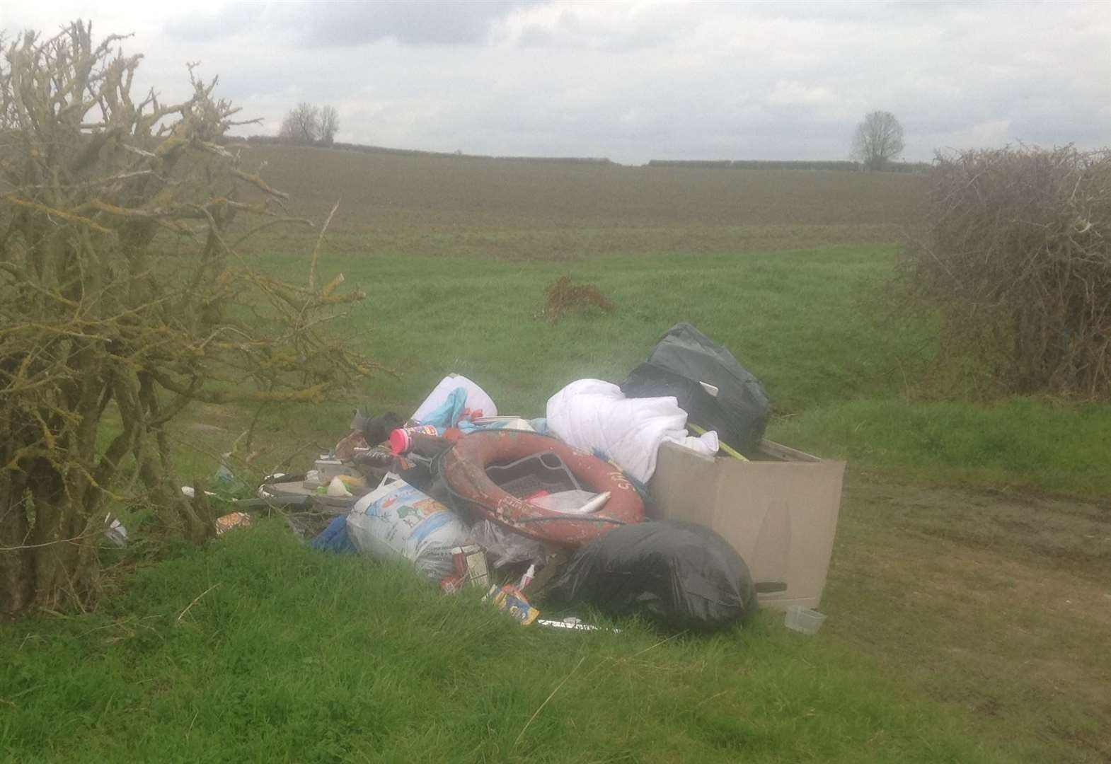 Farmer hopes fly-tippers will be prosecuted