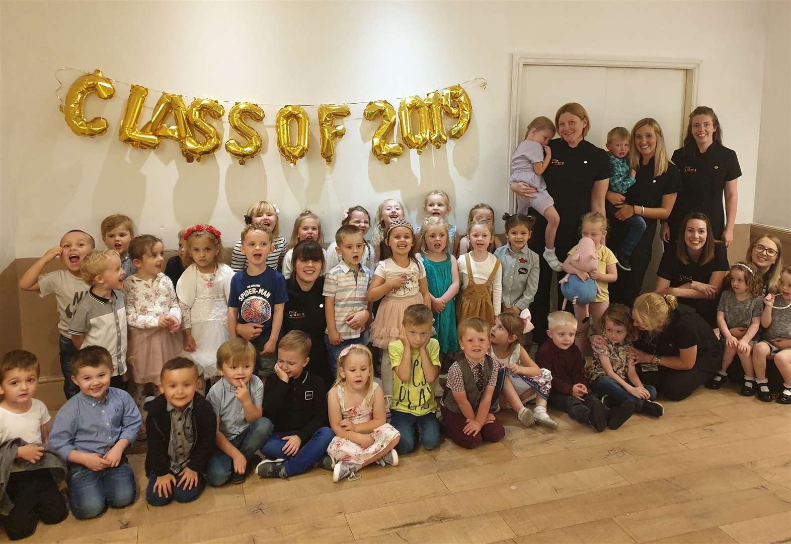 Grantham nursery host graduation ceremony for their little leavers