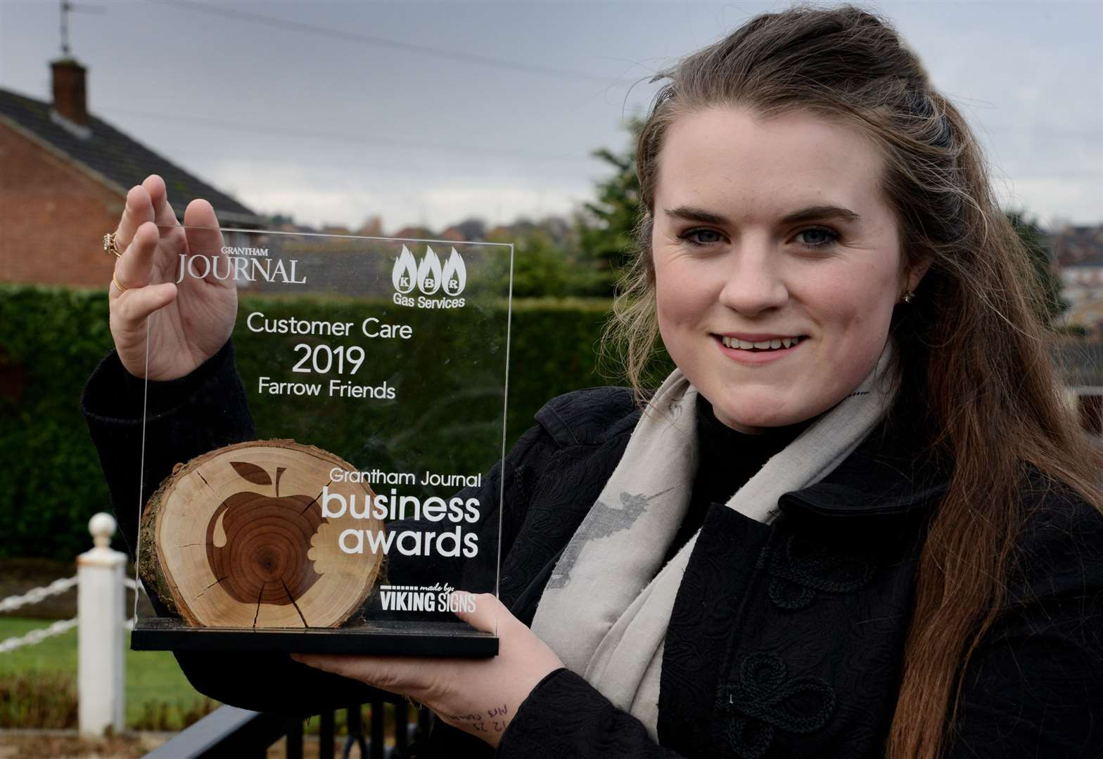 Grantham's 'Customer Care' award winner reveals what's next for her business