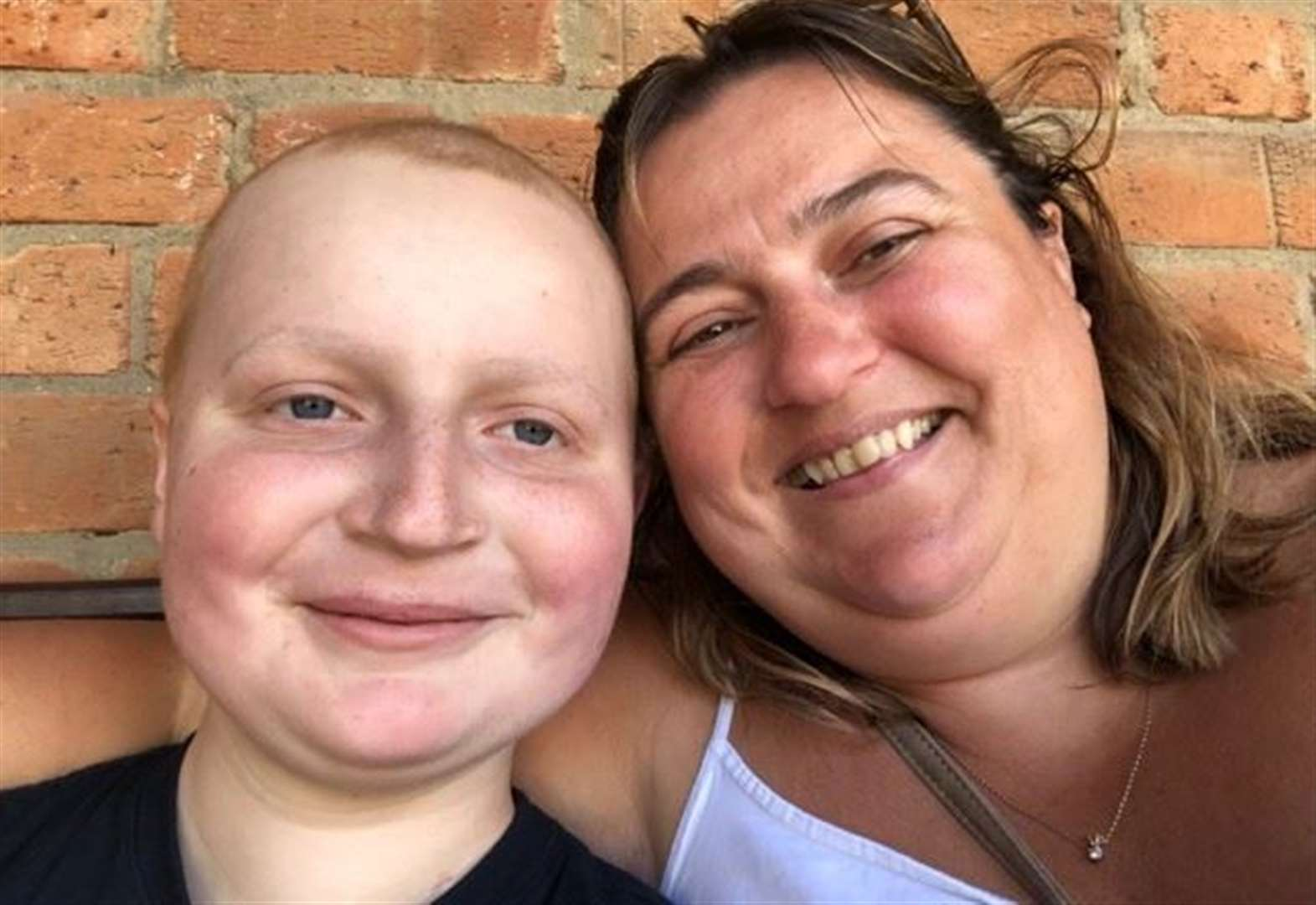 Young cancer patient Charlie Tatchell finishes five months of gruelling treatment