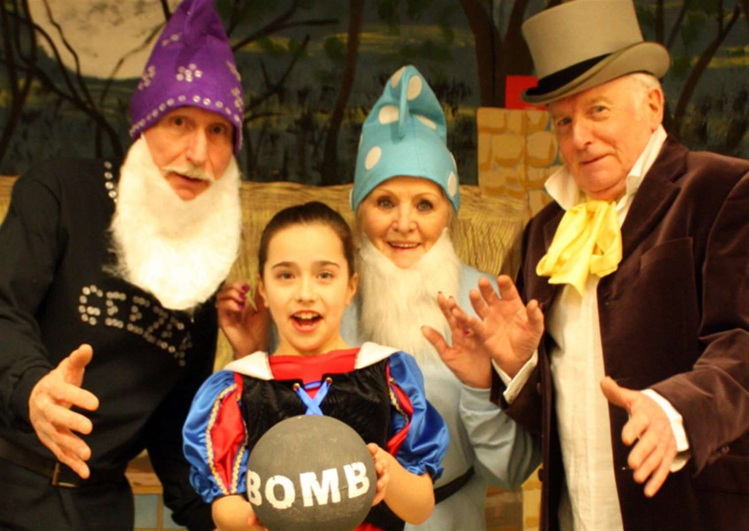 WHAT'S ON: Oasby panto is a new take on Snow White this weekend