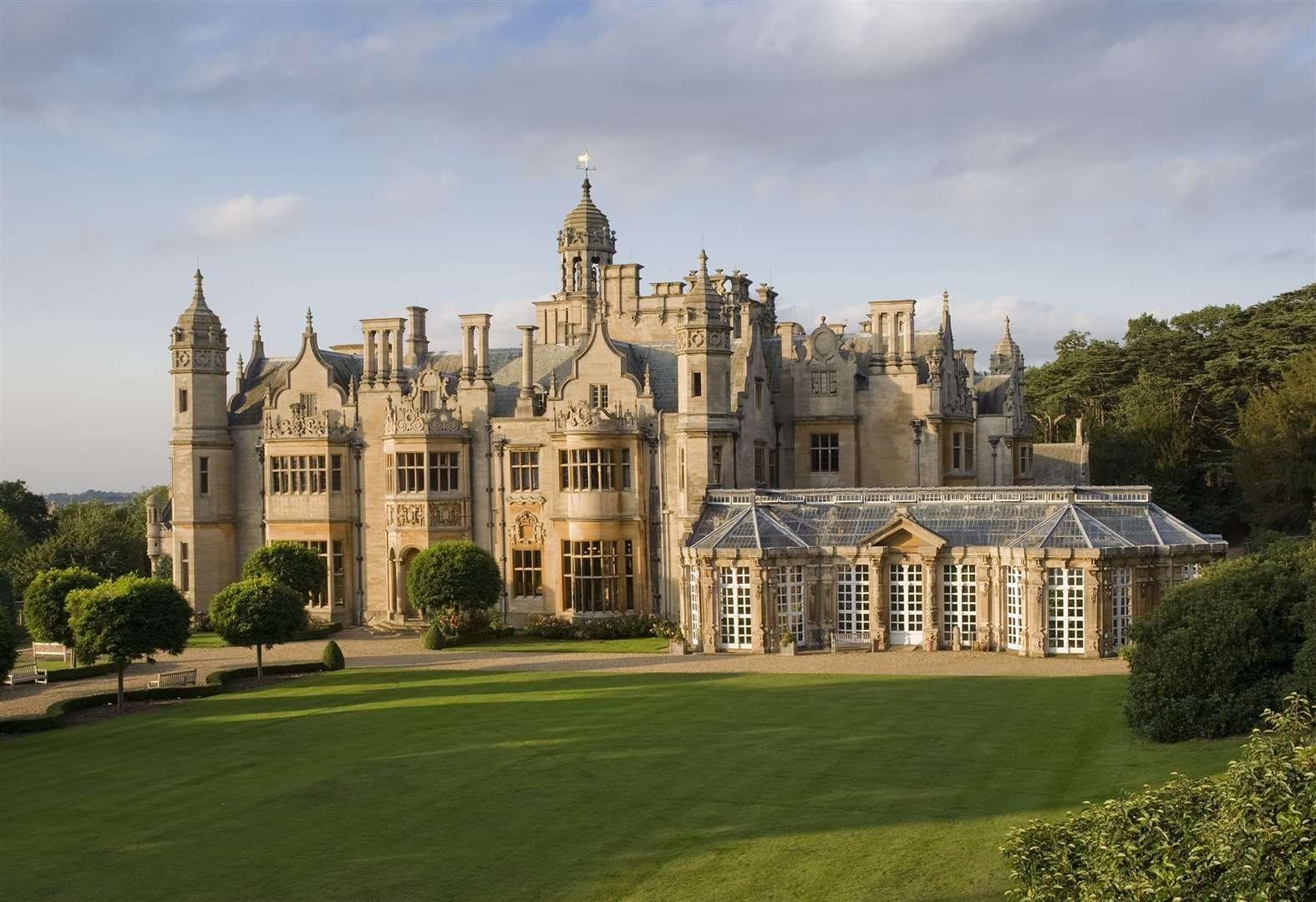 Once-a-year opportunity to view Harlaxton Manor at close quarters