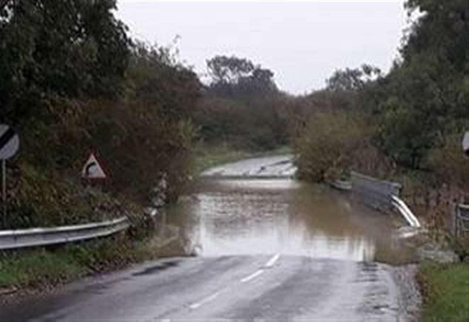 Village near Grantham is hit by flash floods