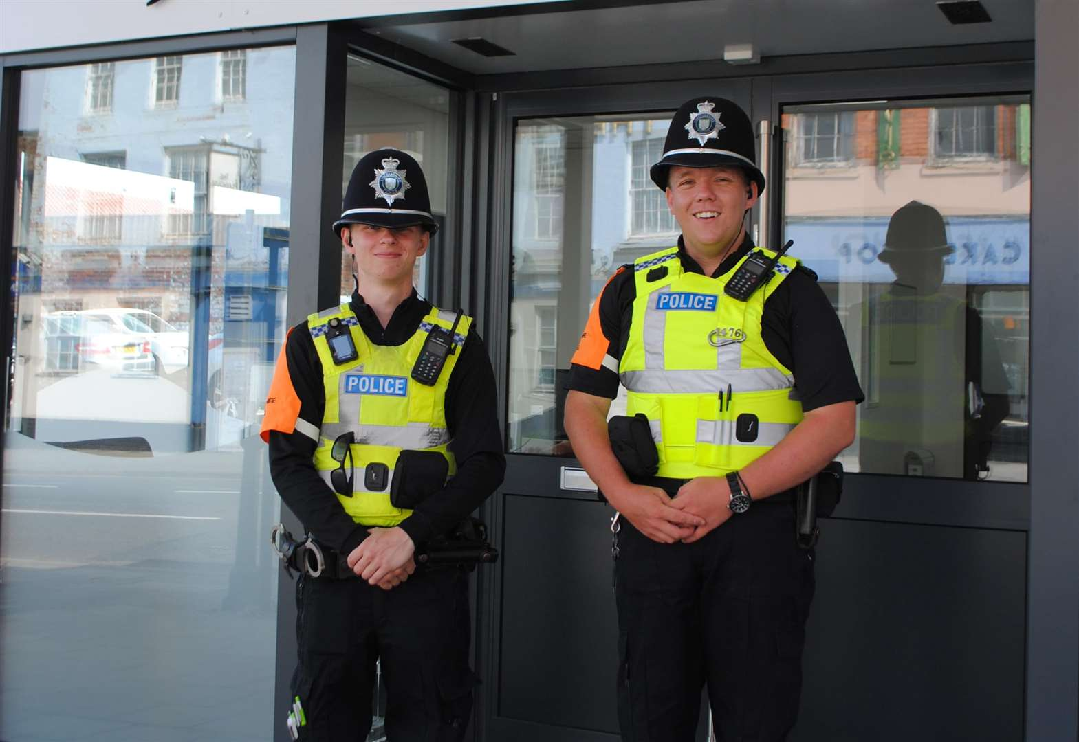 Police stage practical training exercise in Grantham