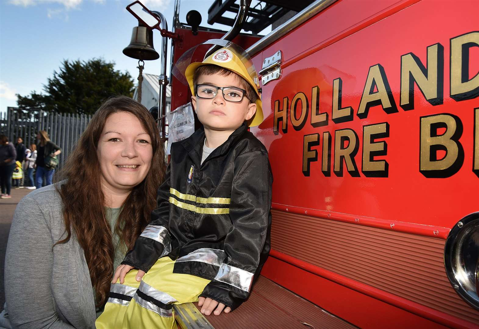 Families enjoy open day at Grantham Fire Station