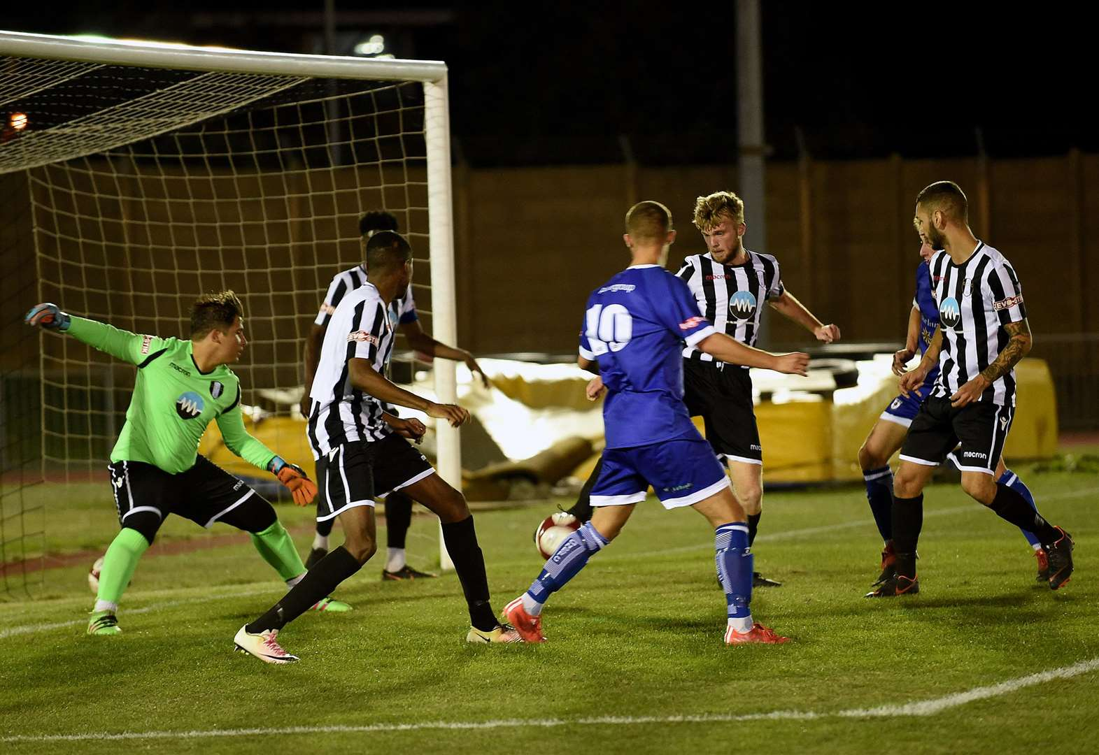 Grantham Town are hit for six in league cup