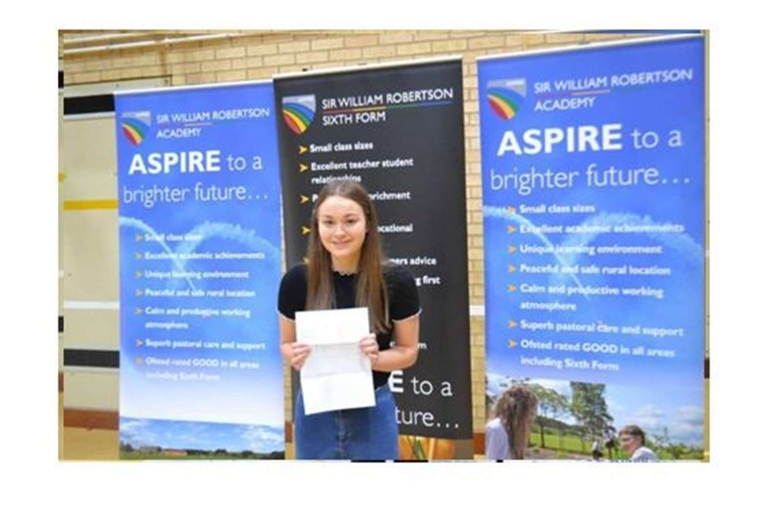 A-level results day 2019: Sir William Robertson Academy