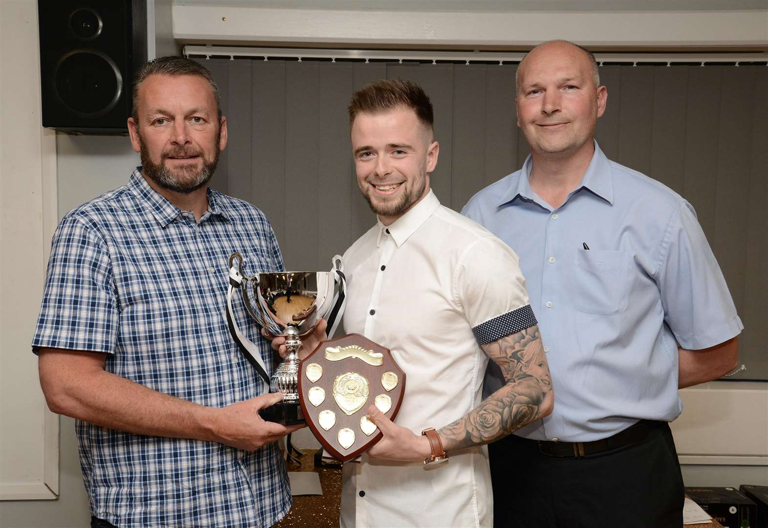Grantham Town annual awards presentation
