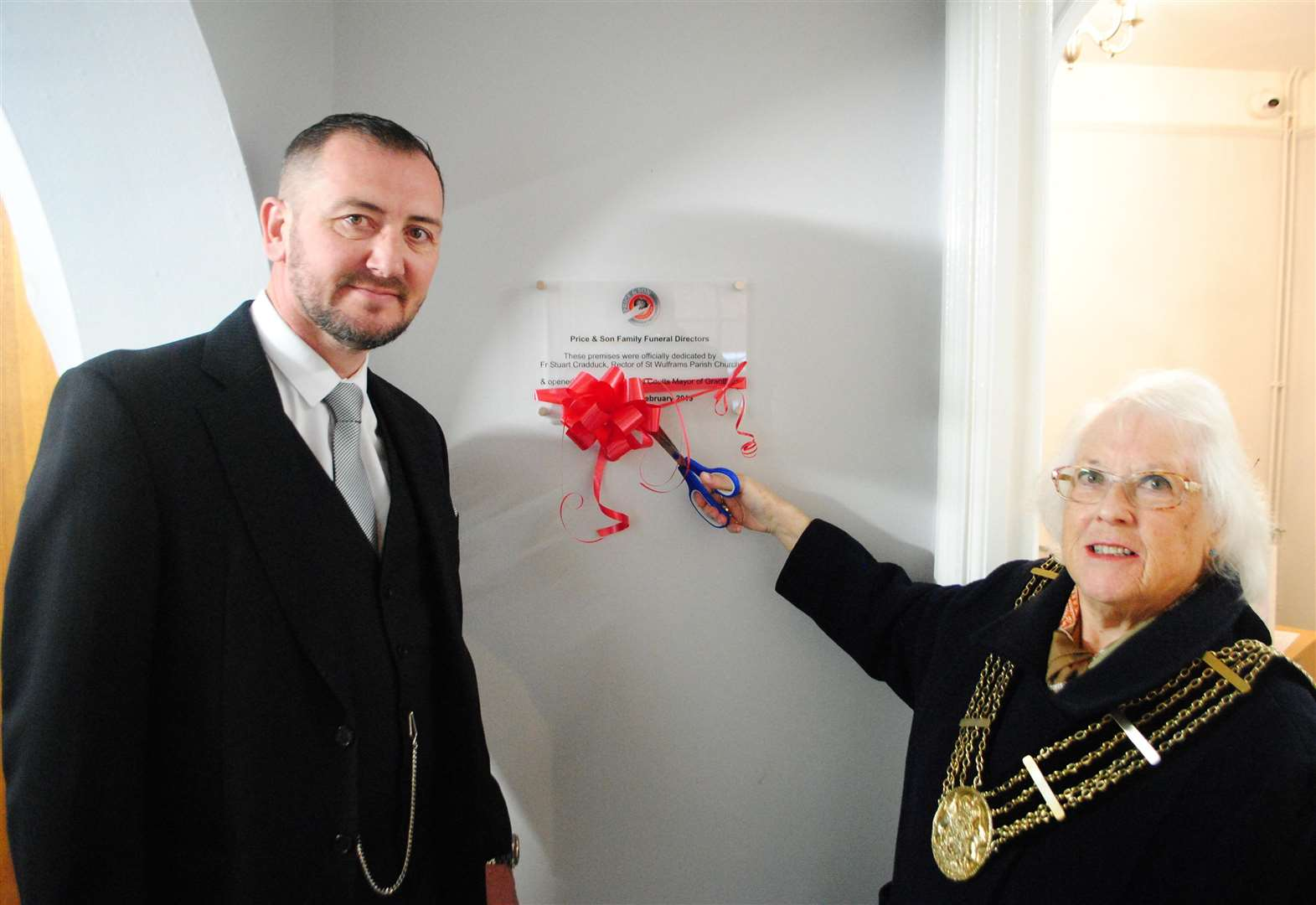 Funeral directors officially opens