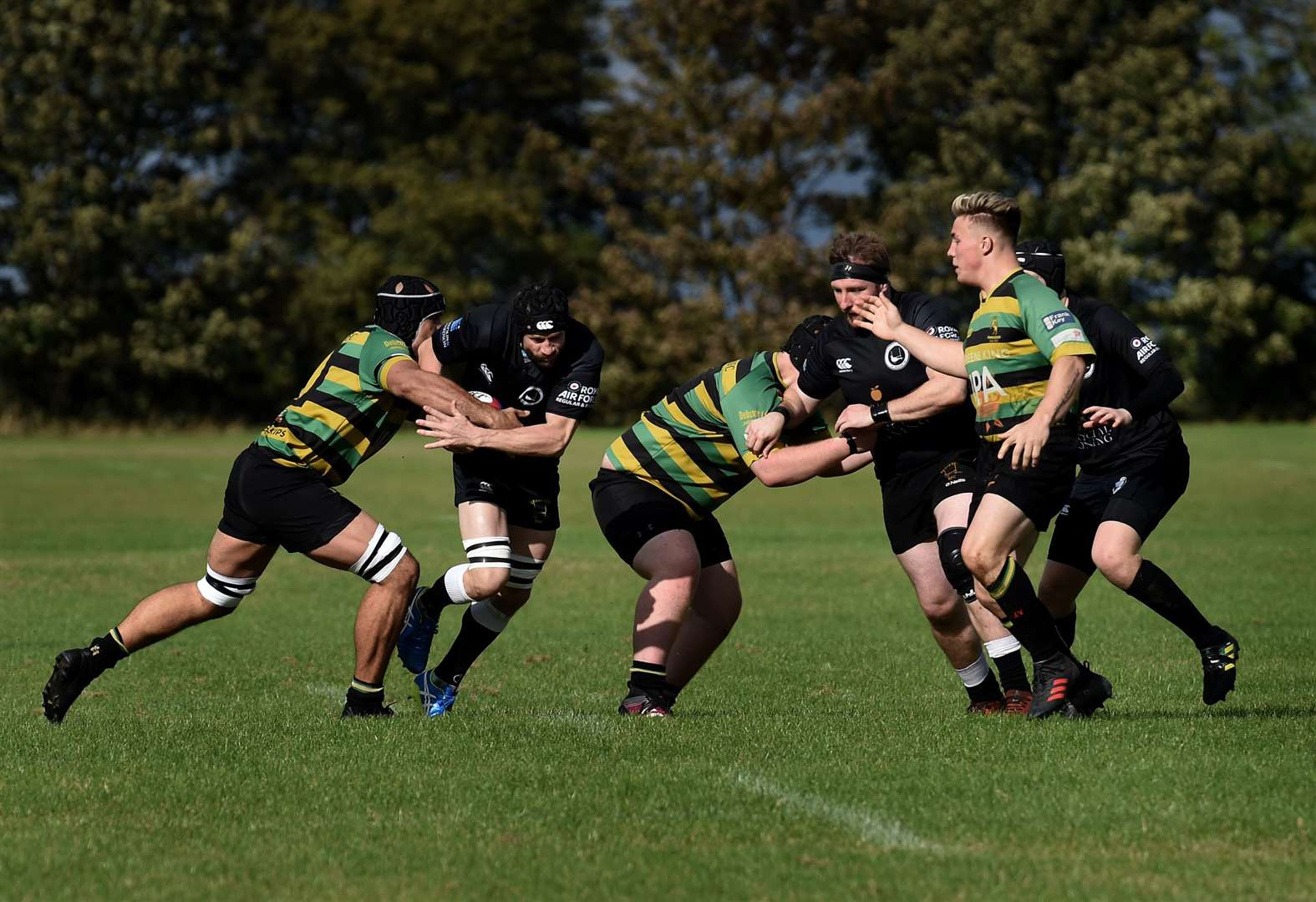 Black Army record solid win opening home match