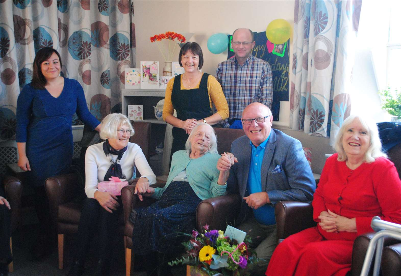 Grantham baby given just months to live turns 102-years-old