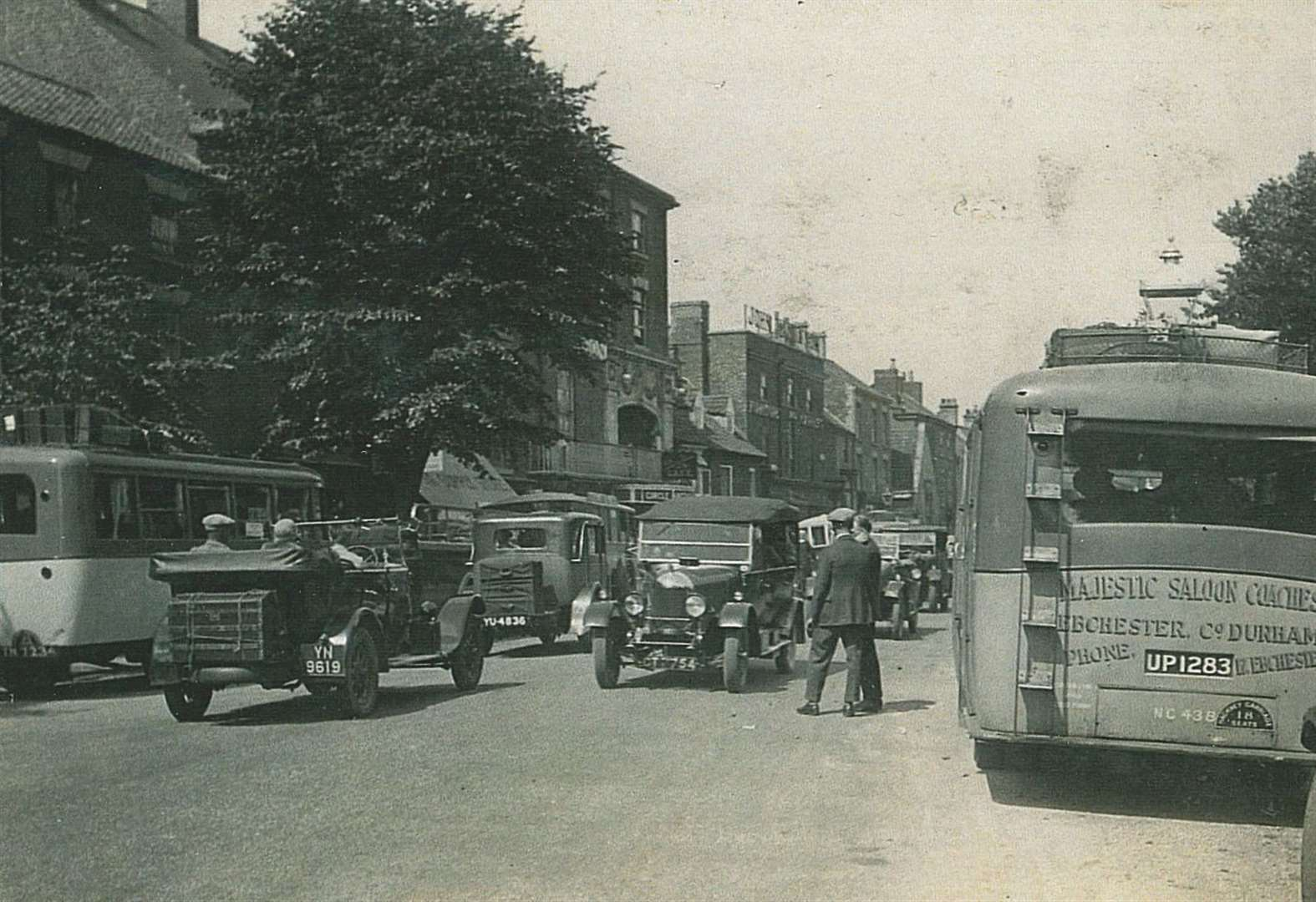 St Peter's Hill was a holiday hive of activity in the 1930s