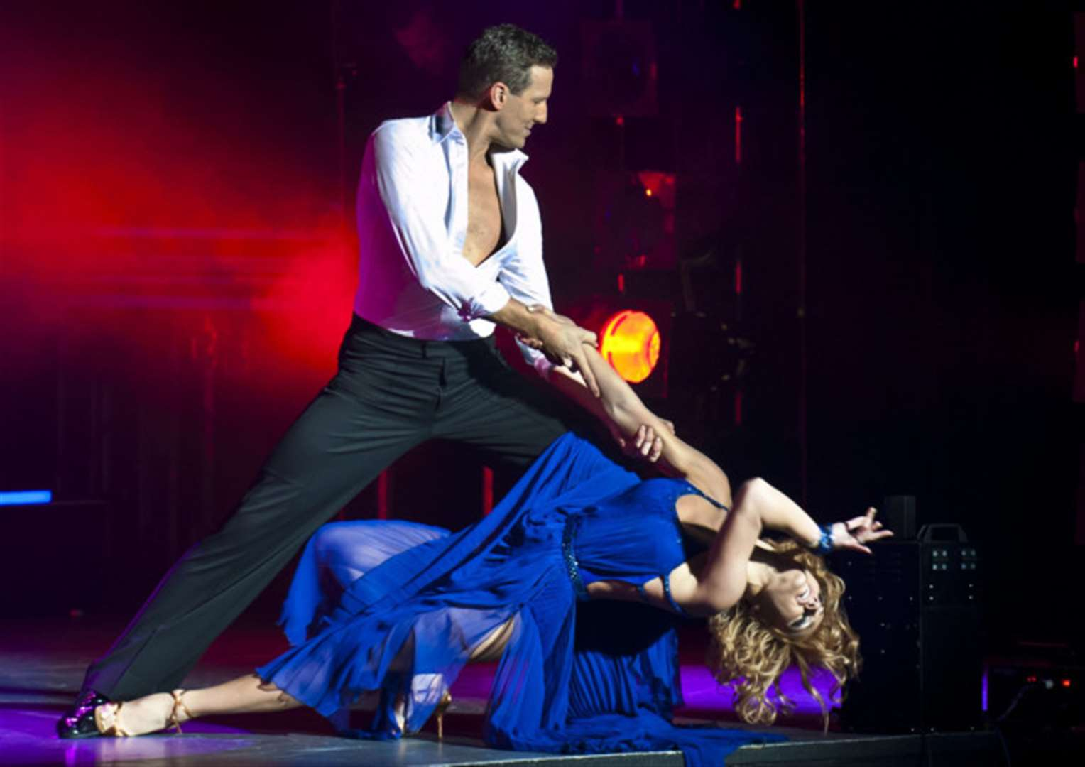 Star of Strictly Come Dancing Brendan Cole brings show to Grantham
