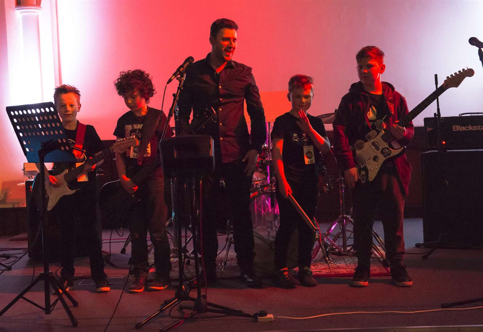 Grantham youngsters rock out at band workshop