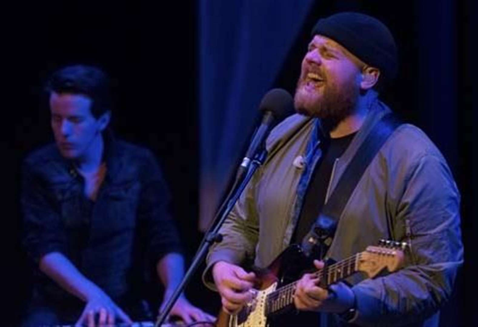 Brit Award winner Tom Walker performs close up gig at Grantham Guildhall