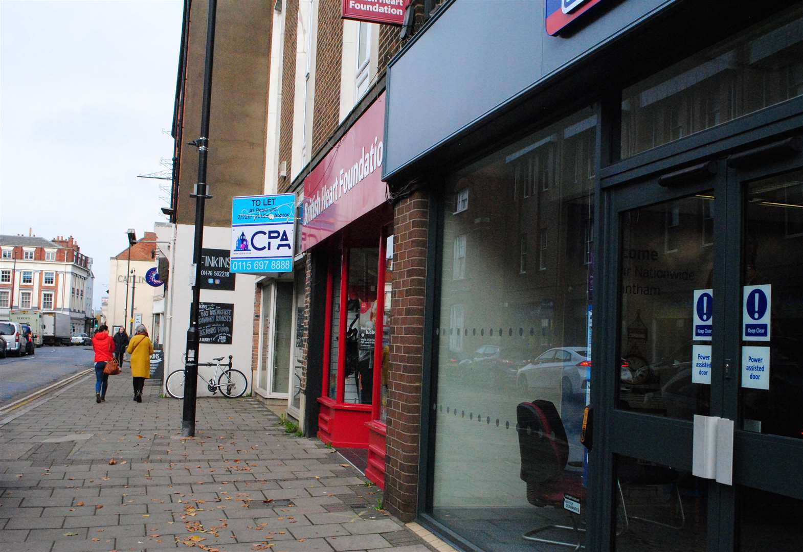Report says 48 shop units are vacant in Grantham
