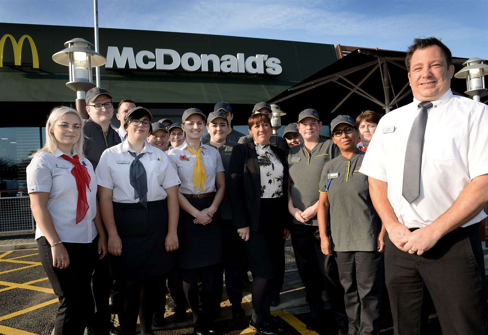 McDonald's restaurant on the A1 at Colsterworth has opened