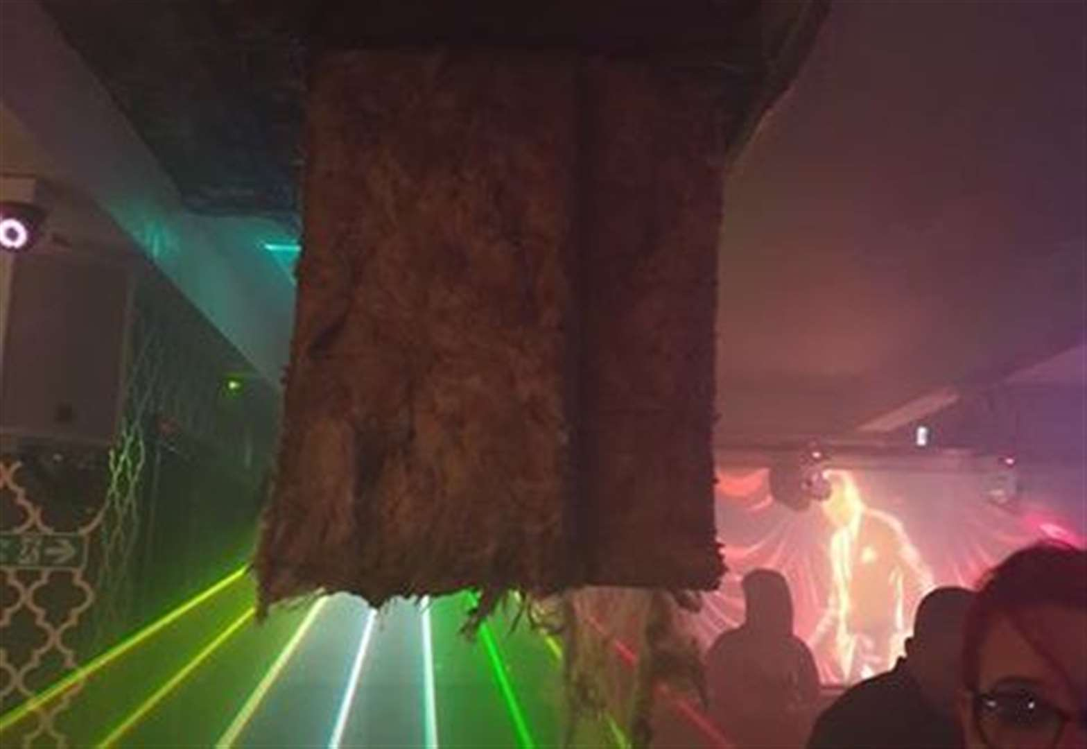 Ceiling collapses on clubbers in Grantham night spot