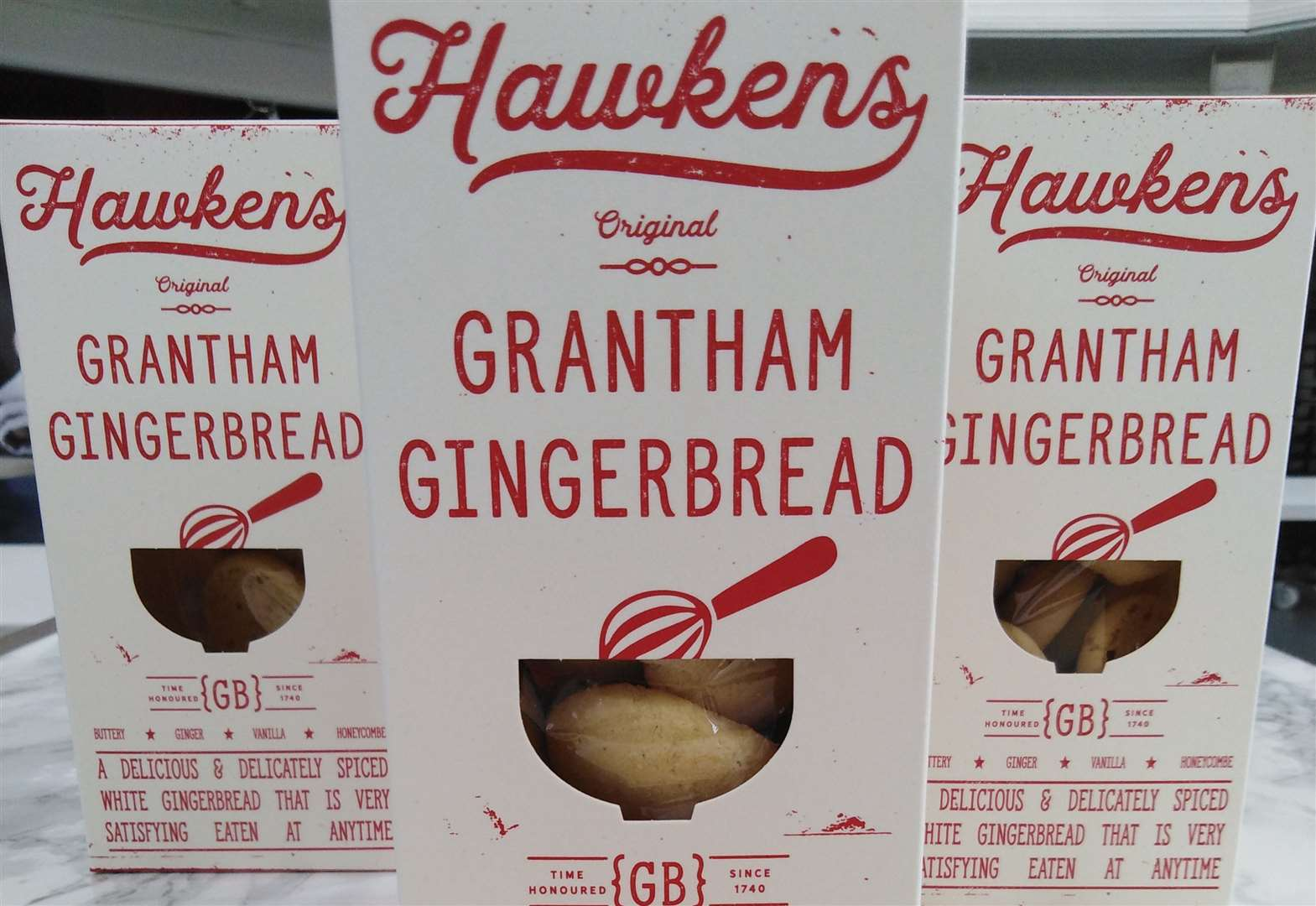 New look for Grantham Gingerbread