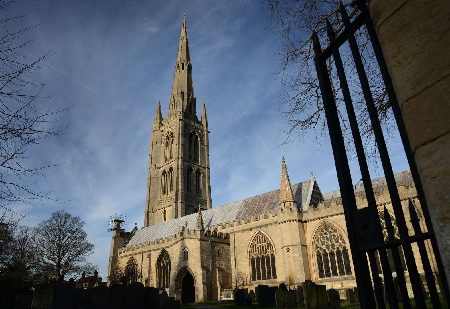 Thieves break into St Wulfram's Church in Grantham over Christmas