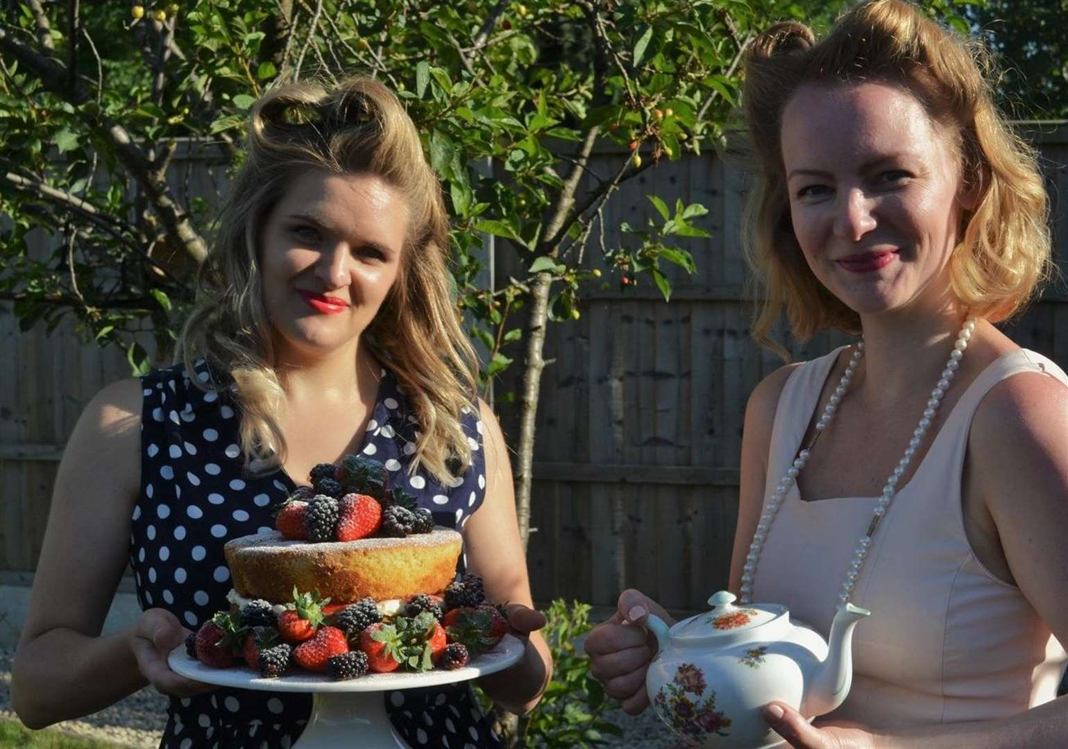 Mobile tea parties launched