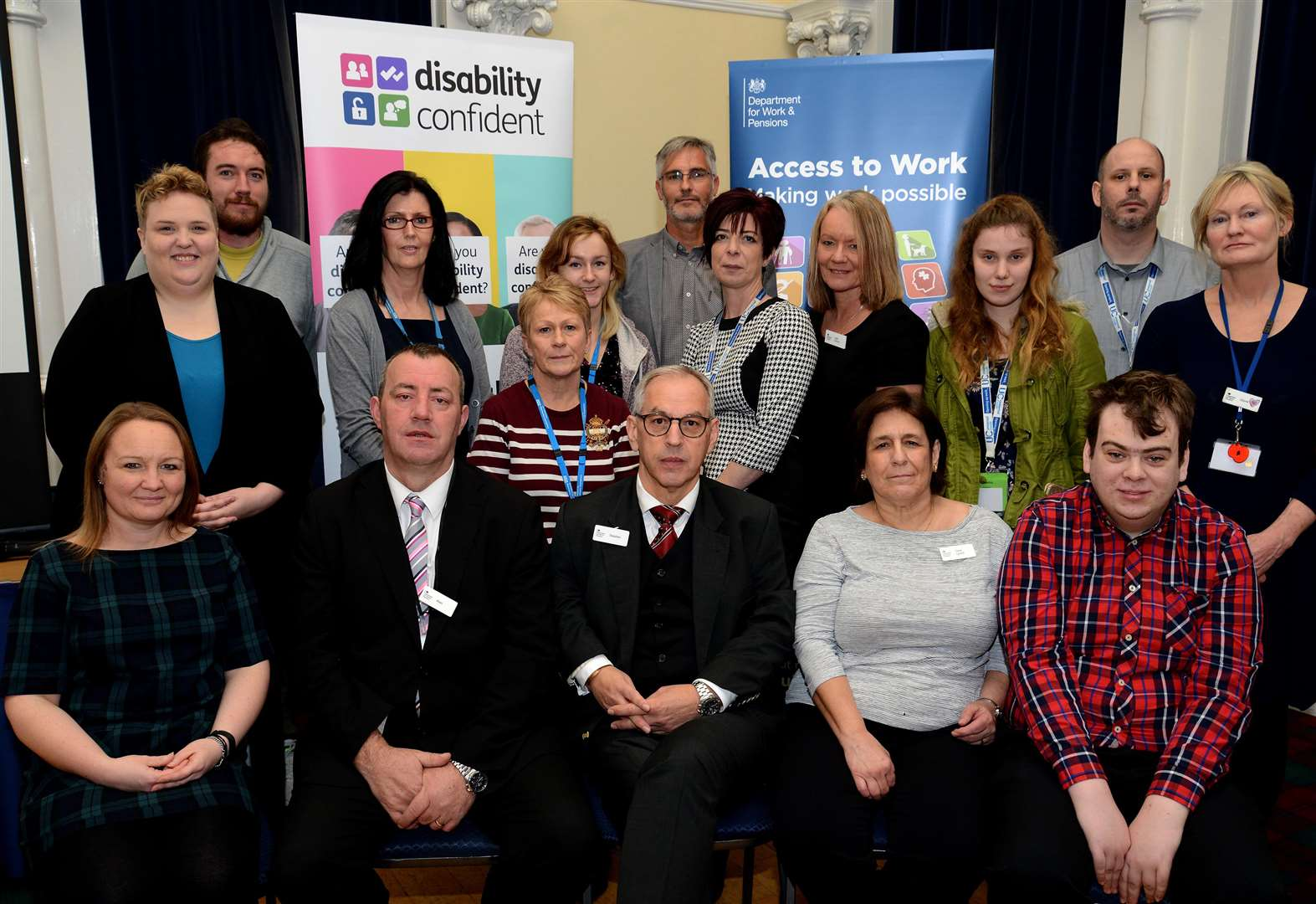 Jobcentre hosts disability 'confident' workshop for Grantham employers