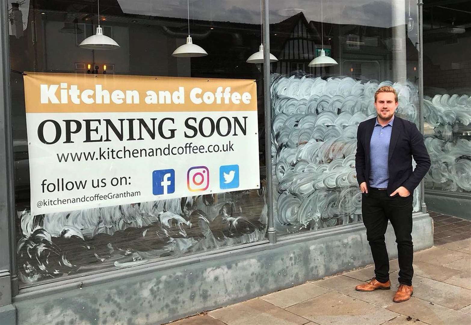 New Grantham cafe in the picture