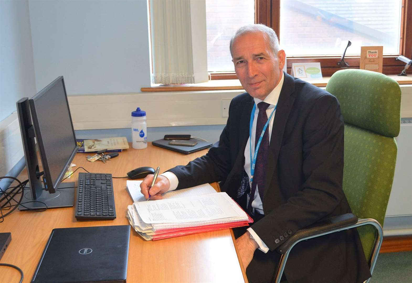 Trust which runs Grantham Hospital in 'better position' now says outgoing chief executive
