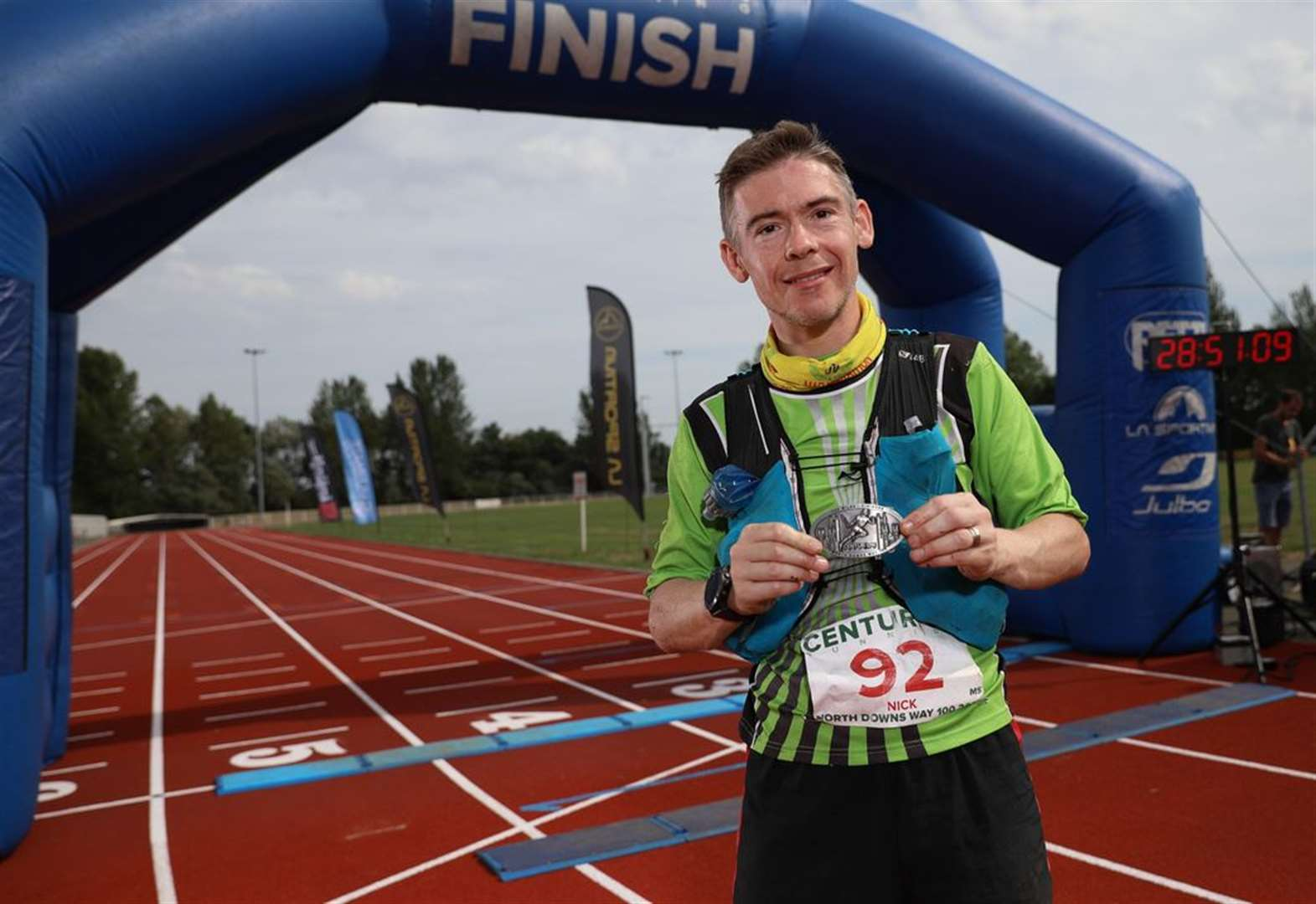Town runner goes through Payne barrier to complete 100 mile race