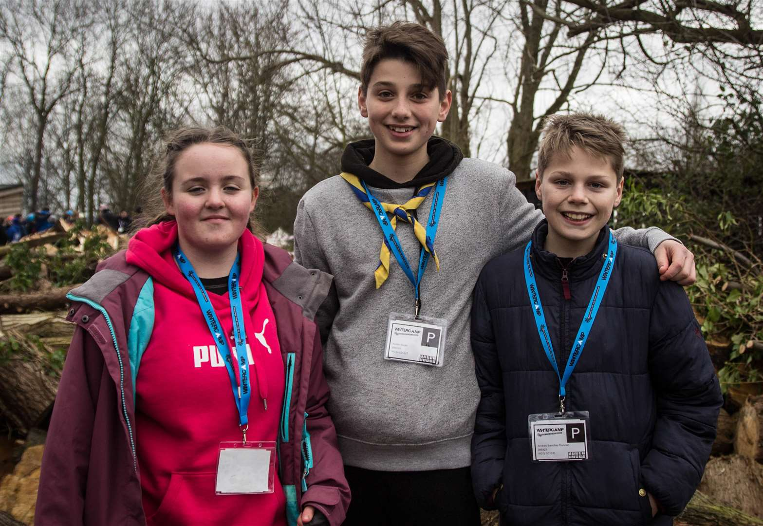 Colsterworth scouts test skills at winter camp