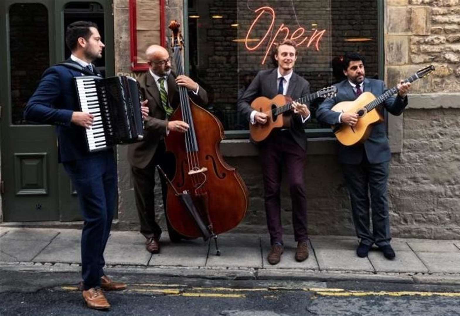 Jonny Kerry Quartet will take you on a musical journey