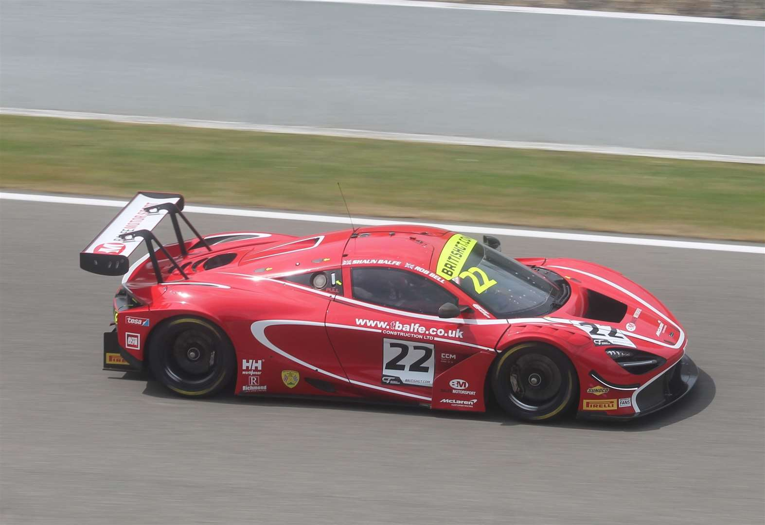 Thrills, spills and podium for Balfe teams at Spa