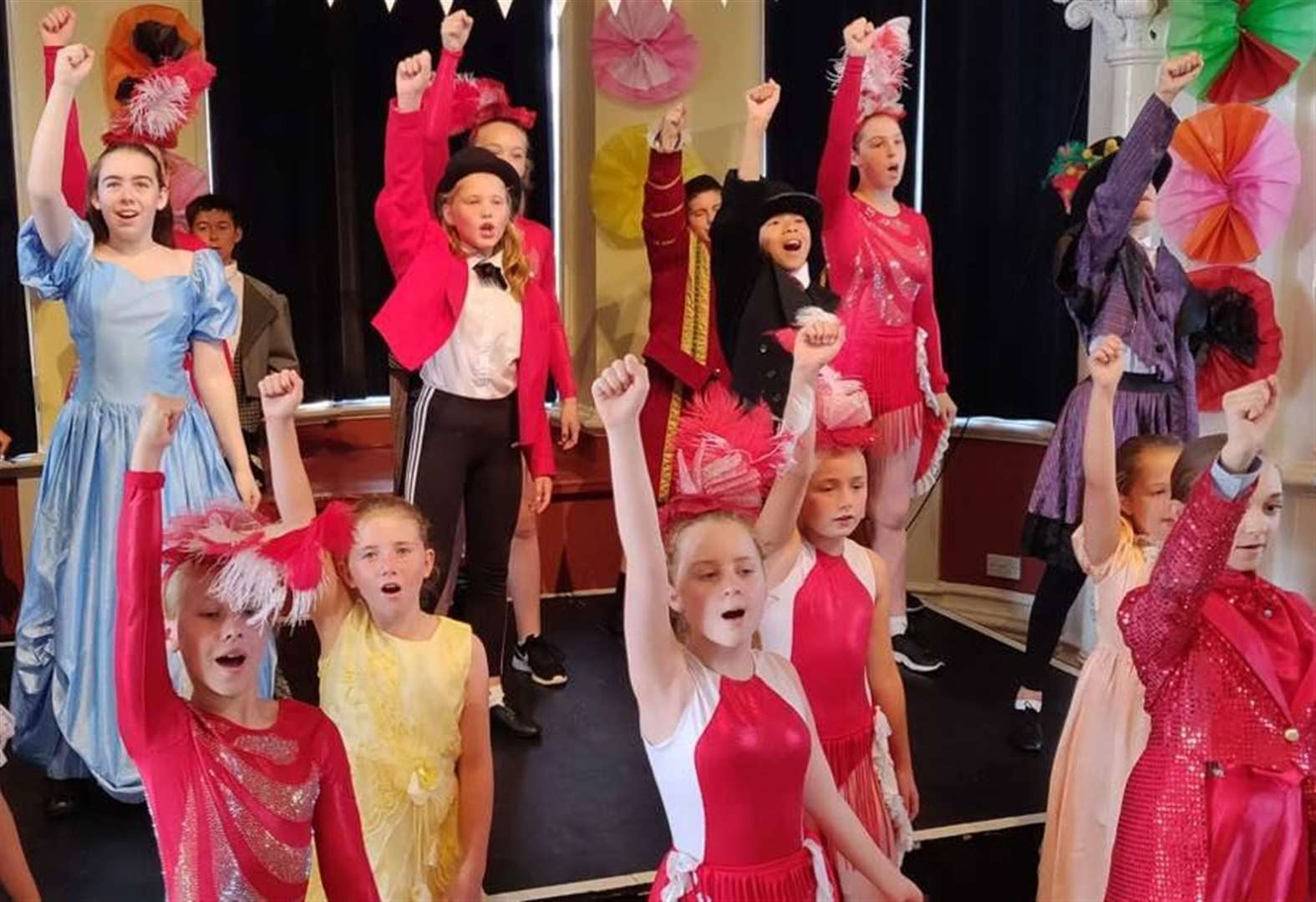 Talented Grantham youngsters perform The Greatest Showman at theatre camp