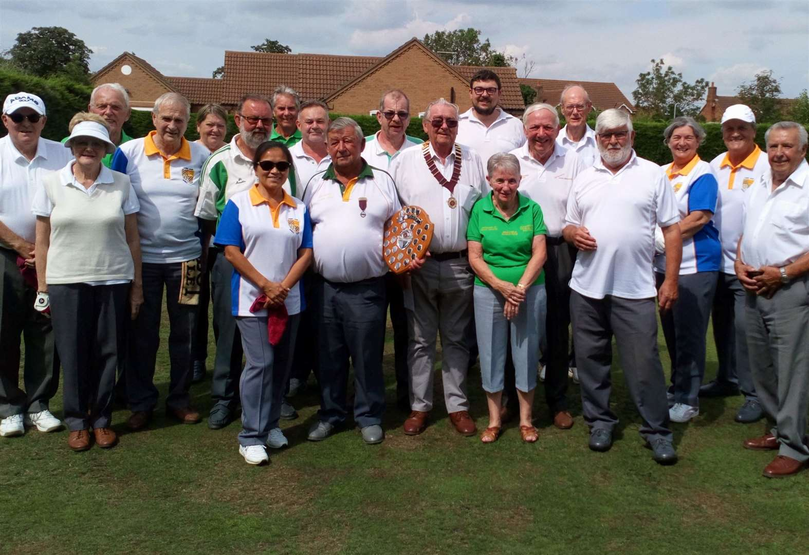All the president's men and women triumph in annual bowls clash